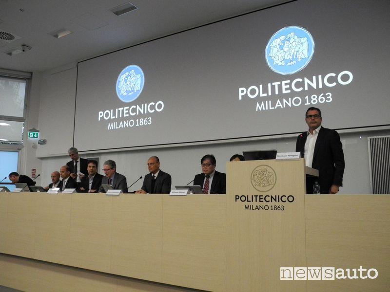 """Relatori Convegno """"Mobilità: tecnologie ed emissioni"""" del Politecnico di Milano"""