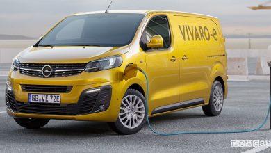 Photo of Opel Vivaro elettrico, anticipazioni e autonomia furgone elettrico