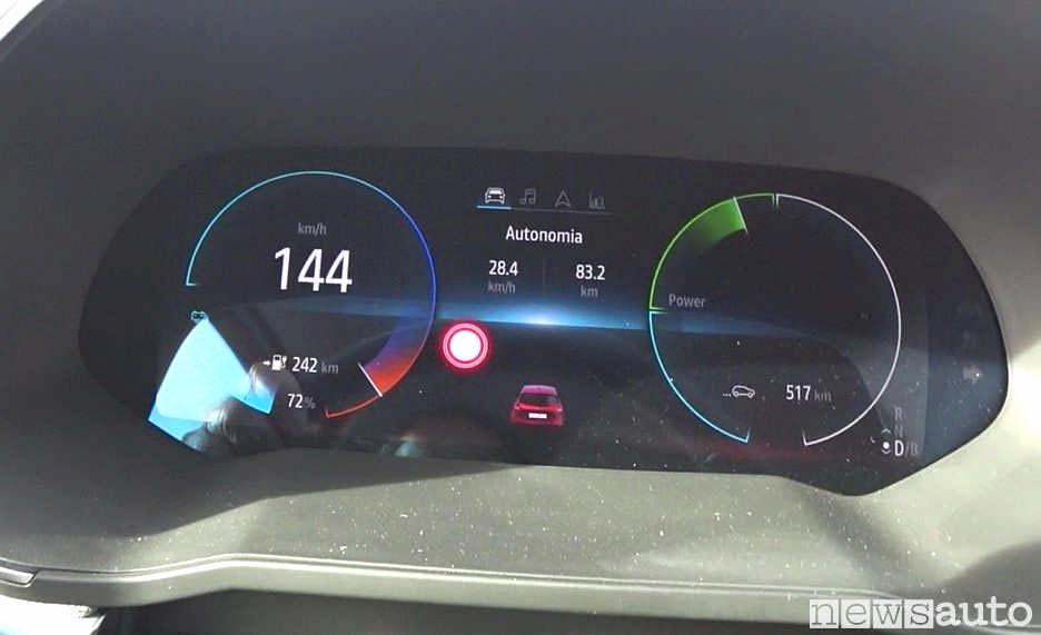 Velocità massima Renault Zoe limitata a 140 km/h reali, indicati 144