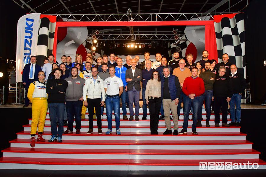 piloti Suzuki premiati durante l'Adria Motor Week 2019