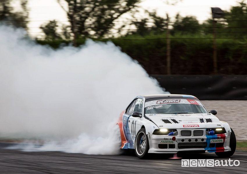 BMW M3 auto da drifting