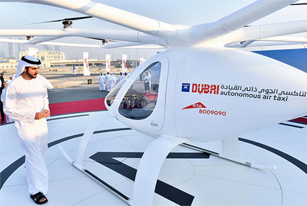 Drone Taxi già in funzione a Dubai