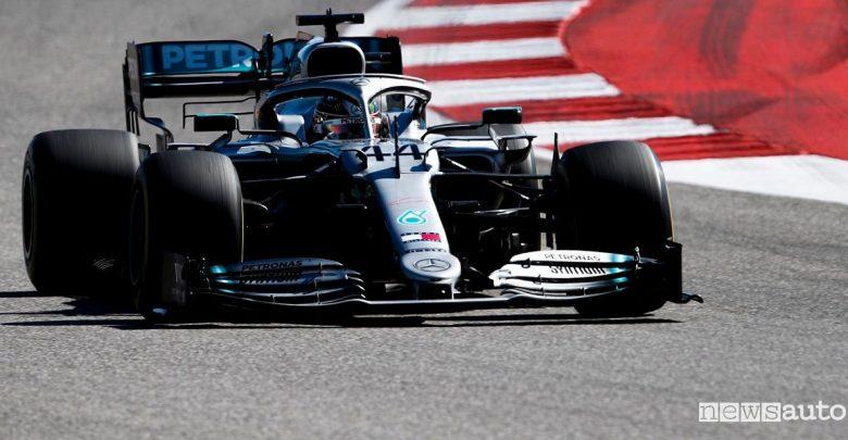 F1 Gp USA 2019 gara Mercedes Hamilton