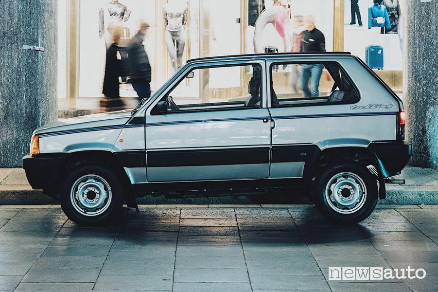Sportello lato guidatore Fiat Panda 4x4 di Gianni Agnelli