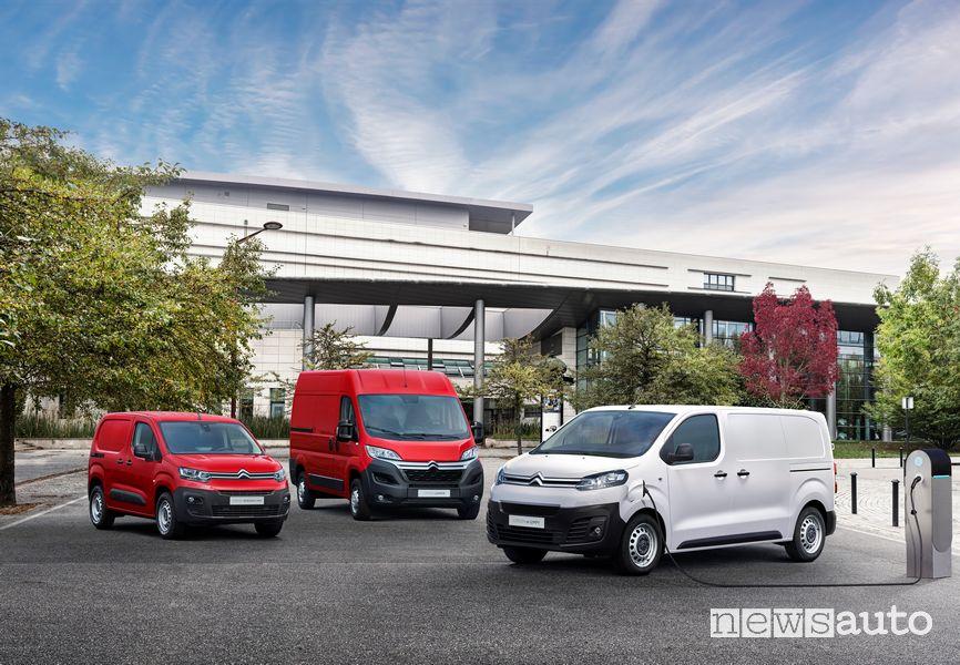 Citroën Jumpy elettrico autonomia fino a 300 km WLTP