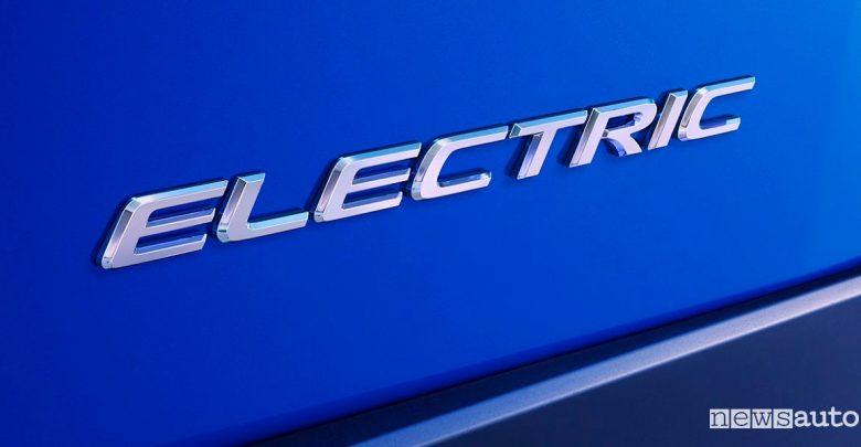 Auto elettrica Lexus