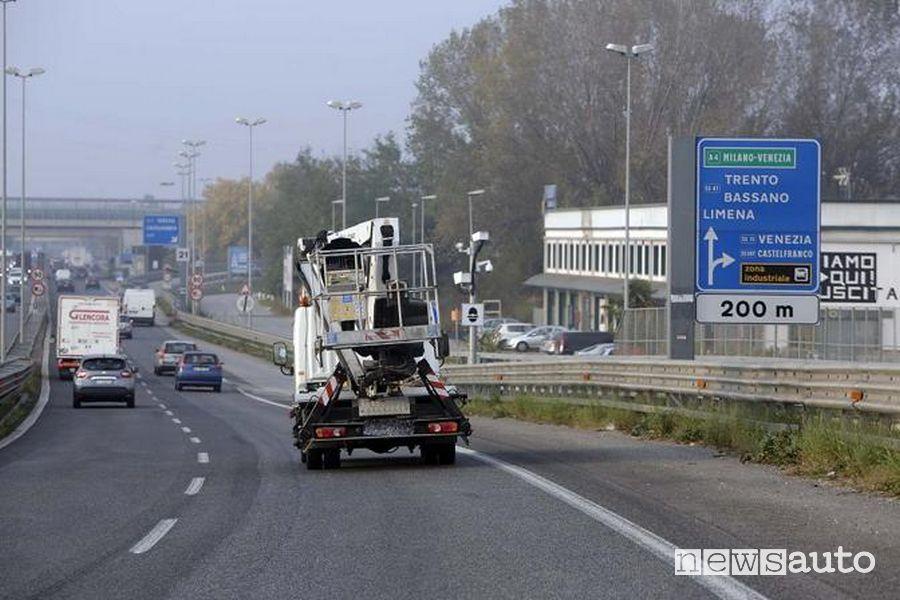 autovelox TruCam telelaser comune di Limena Padova