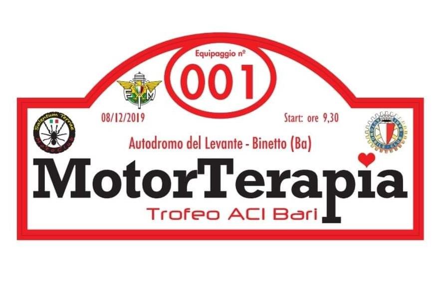 Locandina MotorTerapia, trofeo ACI Bari