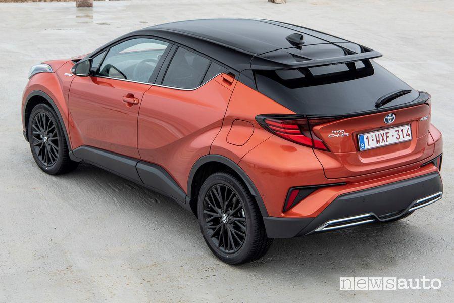 Paraurti, vista posteriore Toyota C-HR 2020 Premiere