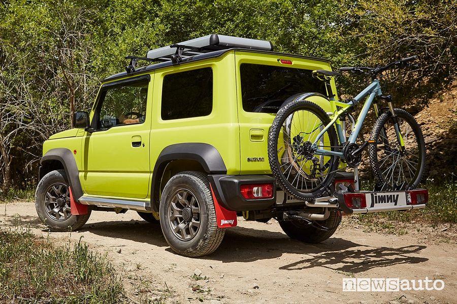Porta bici Suzuki Jimny