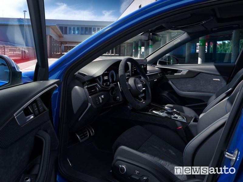 Interni, sedile anteriore Audi RS 4 Avant 25th Anniversary