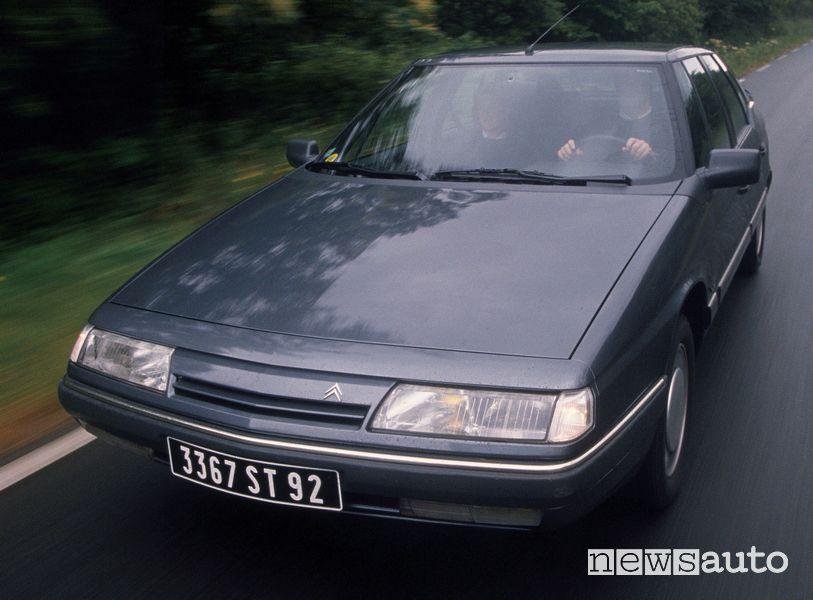 Vista anteriore Citroën XM V6 1989
