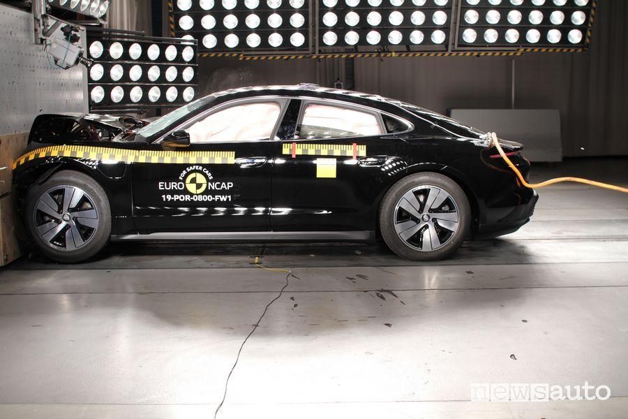 Crash Test Euro NCAP 2019 Porsche Taycan