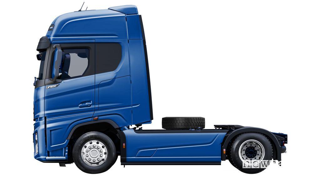 Vista laterale Ford F-MAX truck