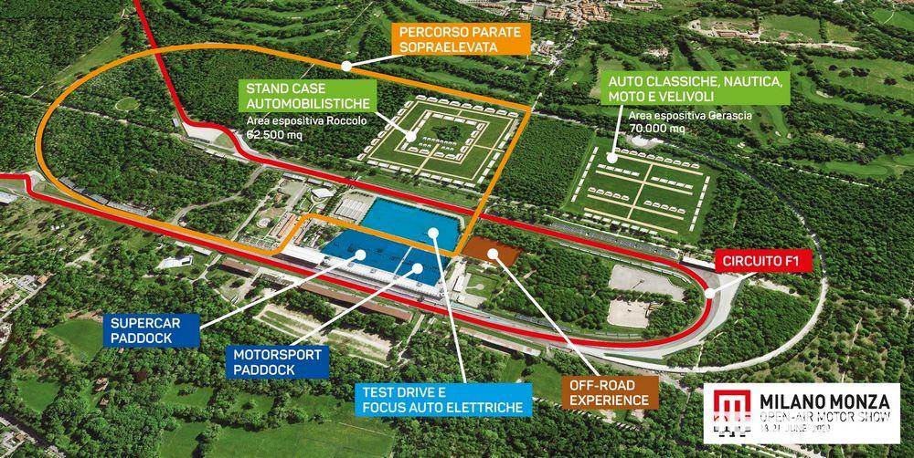 Autodromo di Monza Milano-Monza Open Air Motor Show 2020