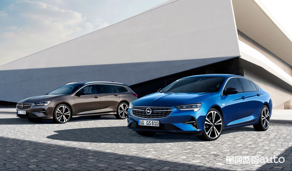 Opel Insignia Grand Sport e Sports Tourer 2020