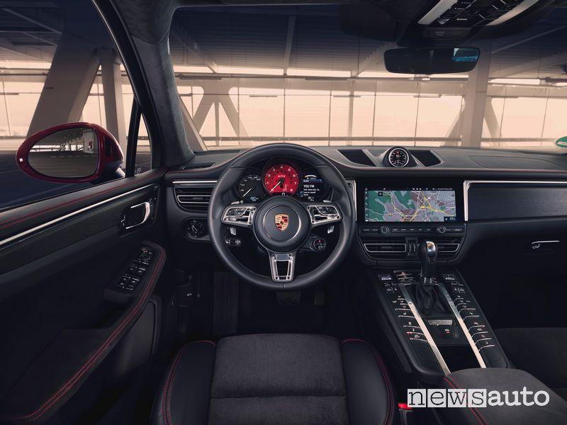 Volante sportivo, navigatore Porsche Macan GTS