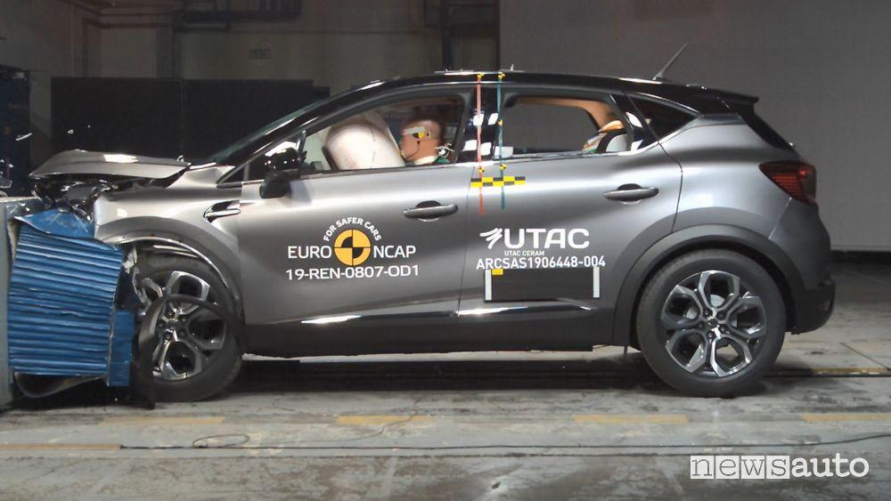 Crash Test Euro NCAP 2019 Renault Captur