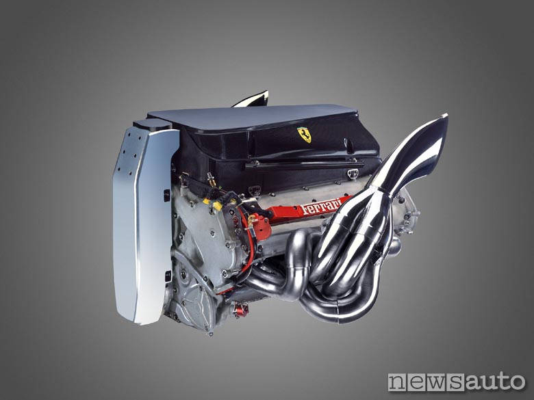 motore Ferrari F2002 Michael Schumacher F1