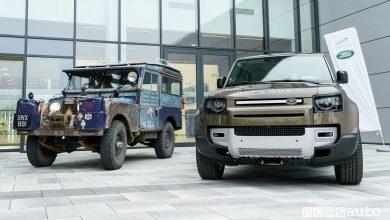 Photo of Land Rover Defender vecchia e nuova, incontro speciale a Nitra
