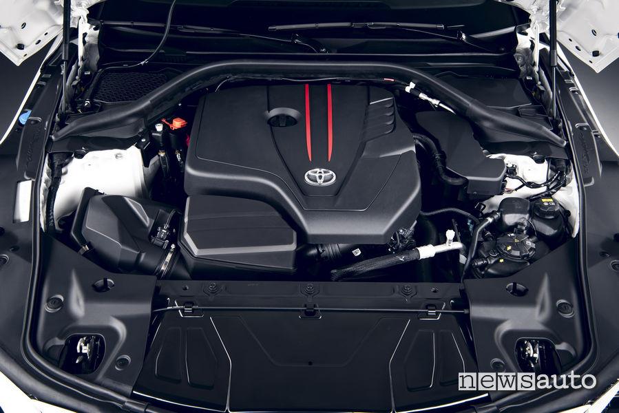 Motore turbo Toyota 2.0L 258 CV
