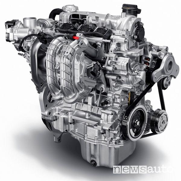 Nuovo motore Fiat Mild Hybrid a benzina 1 litro, 3 cilindri