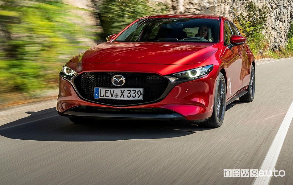Mazda3 ibrida Skyactiv-G
