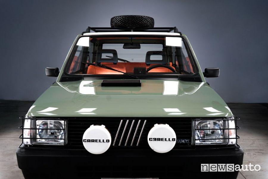Cofano e fari anteriori Carello Fiat Panda 4x4 Pandina Jones
