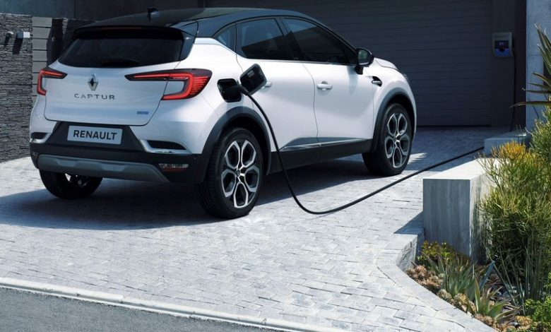 Ricarica da wallbox domestica Renault Captur E-TECH Plug-in