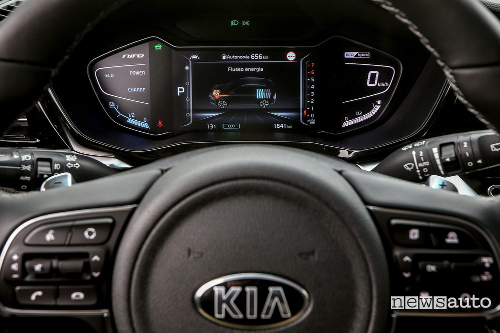 Cruscotto digitale Supervision Cluster Kia Niro 2020