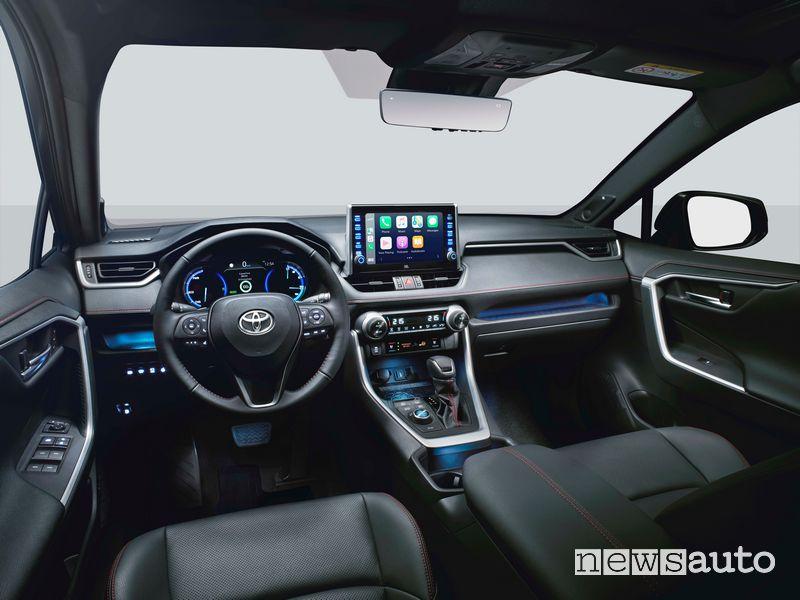 Interni Toyota Rav4 Hybrid Plug-In