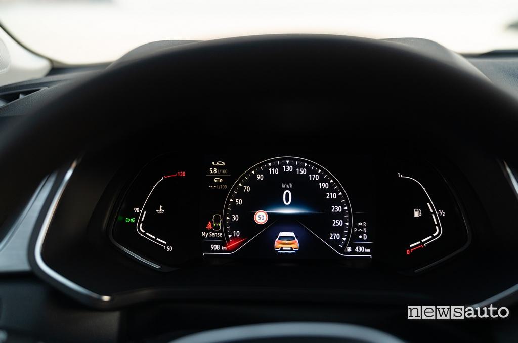 Cruscotto digitale Renault Captur 2020