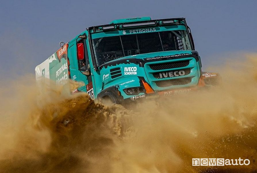 Dakar 2020 truck Iveco Petronas