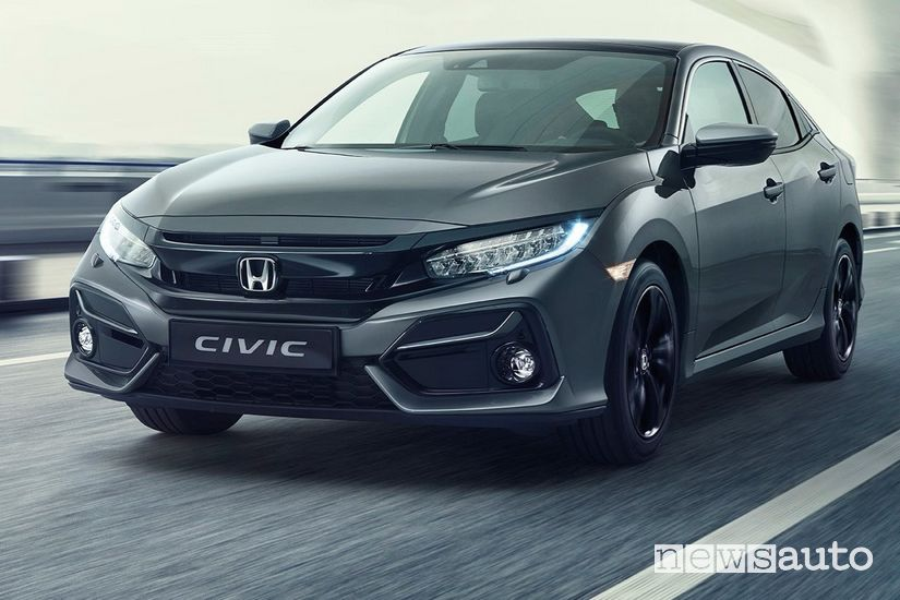 Honda Civic 2020 restyling