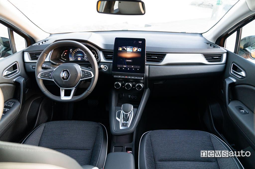 Interni Renault Captur 2020