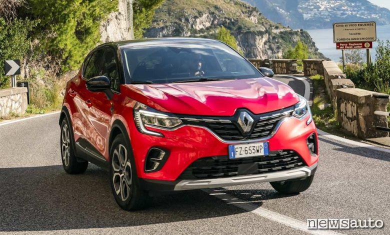 prova Renault Captur 2020