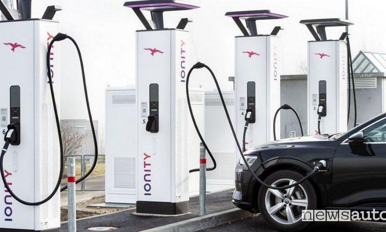 Ionity prezzo ricarica fast DC in Europa