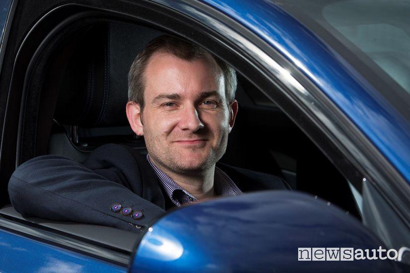 """Steve Huntingford, il direttore di """"What Car?"""