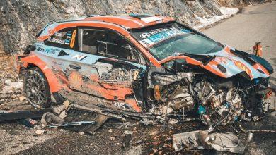 Photo of Incidente spettacolare al WRC Rally di Montecarlo (Hyundai Tanak) a 185 km/h