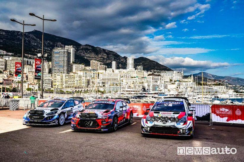 WRC 2020 Ford M-Sport, Hyundai e Toyota