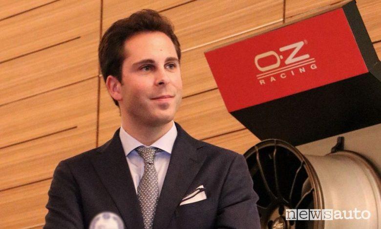 Andrea Bernoni di OZ nella sezione motorsport di Anfia