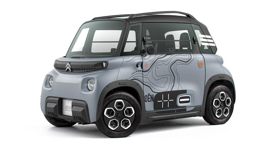 Citroën Ami, macchinetta elettrica