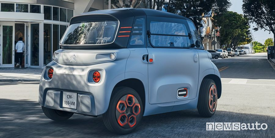 Citroën Ami, prezzi con gli incentivi statali
