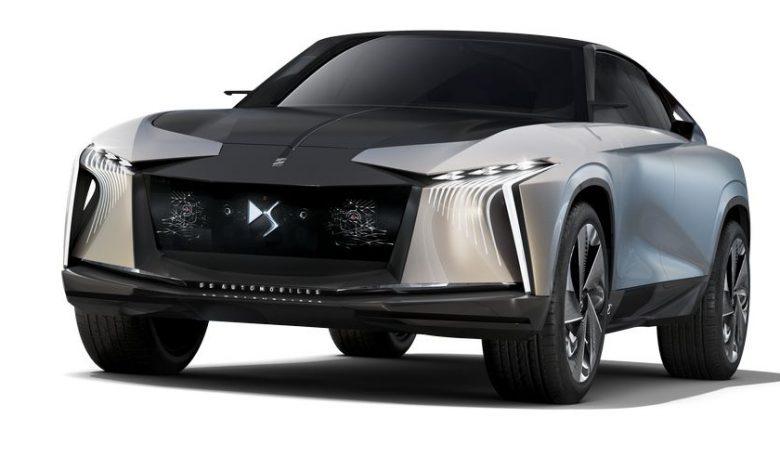 Vista anteriore DS Aero Sport Lounge concept