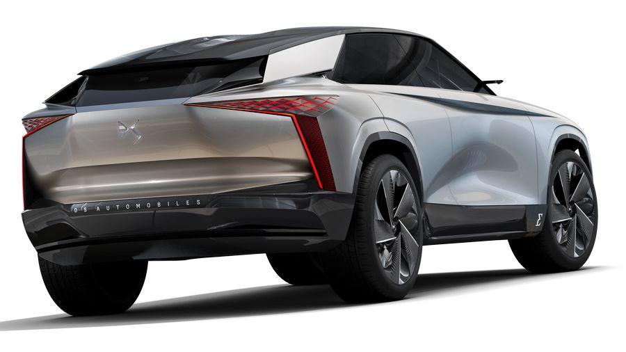 Vista posteriore DS Aero Sport Lounge concept