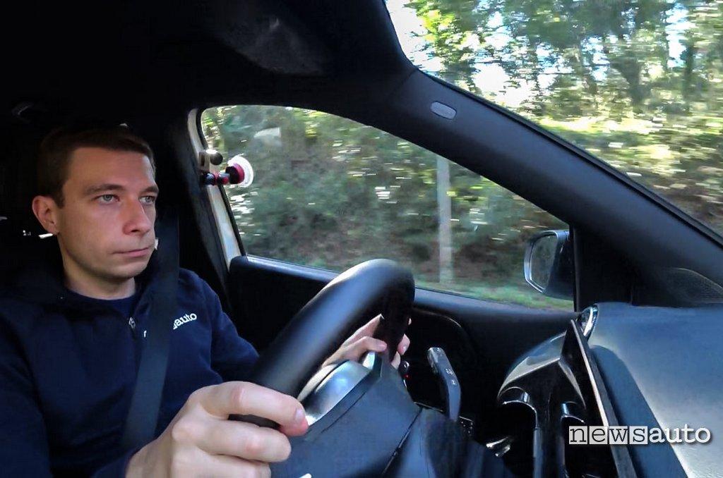 Marco Paternostro prova Mercedes B180d 2020
