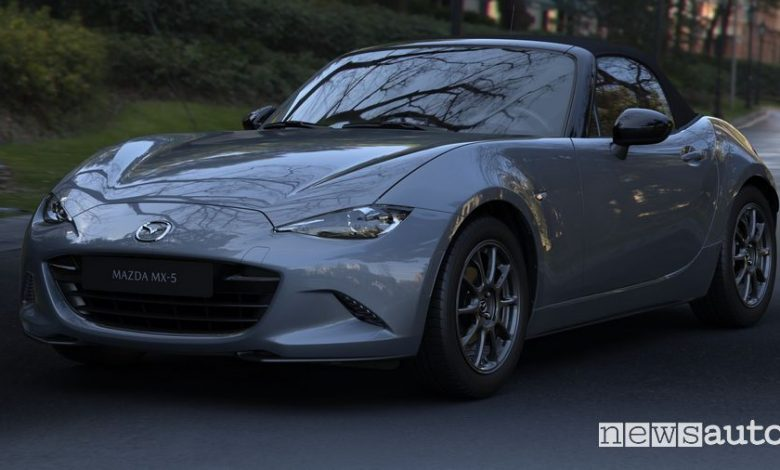 Vista anteriore Mazda MX-5 2020 Polymetal