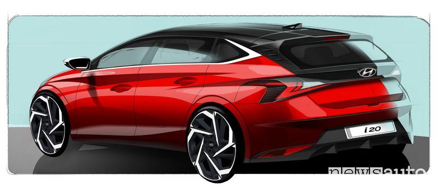 Teaser nuova Hyundai i20 2020
