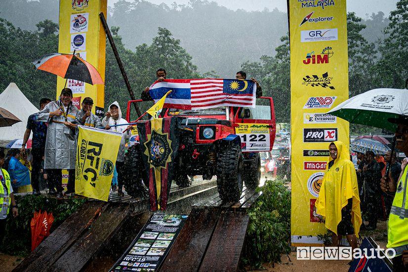 Rainforest Challenge Malesia: sul podio della categoria produzione Team 122 dalla Malesia