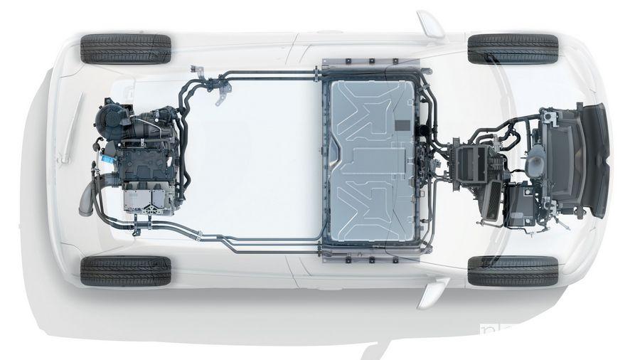 Motore elettrico, batteria Renault Twingo Z.E.